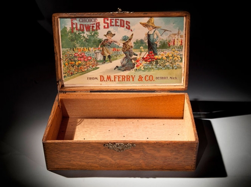 D.M. Ferry & Co. Seed Box, c. 1890s