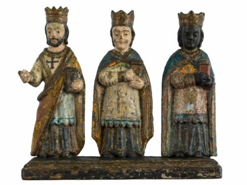 Photo of three kings stauettes