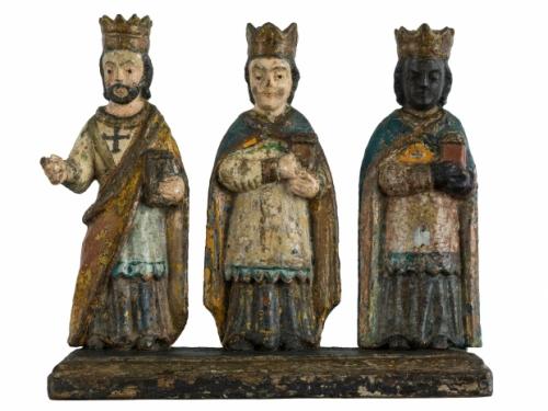Photo of three kings stauettes
