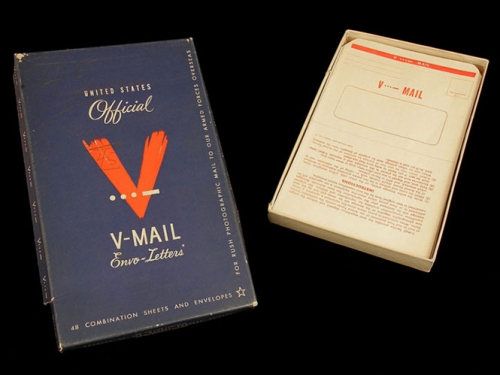 V-Mail Stationery, 1942 Smithsonian's National Postal Museum