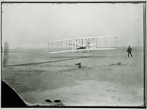 The Wright Brothers' Flight, 1903