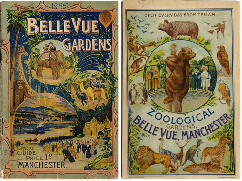 Vintage Zoo Guidebook, 1895