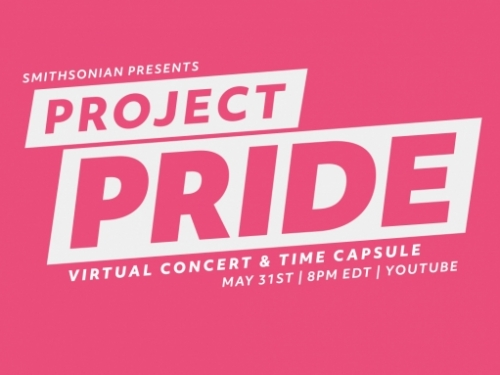 Project Pride: Virtual concert and time capsule.