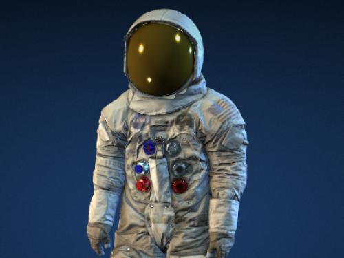 3D spacesuit scan.