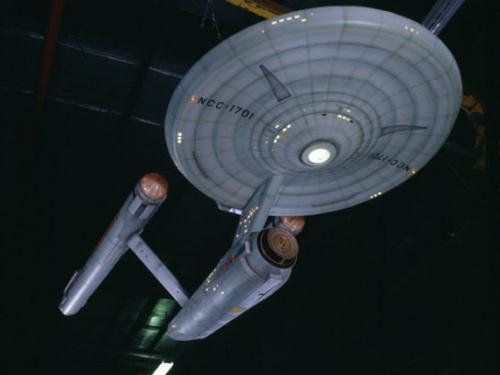 Starship Enterprise Studio Model