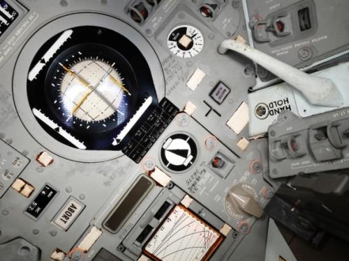 Apollo 11 Command Module markings