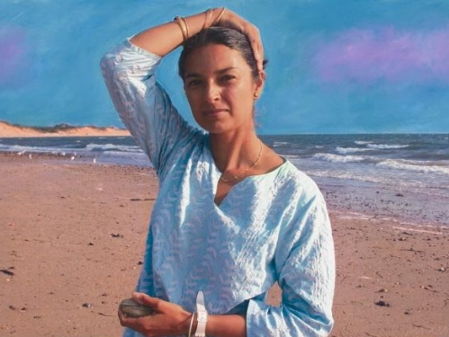 Jhumpa Lahiri. National Portrait Gallery