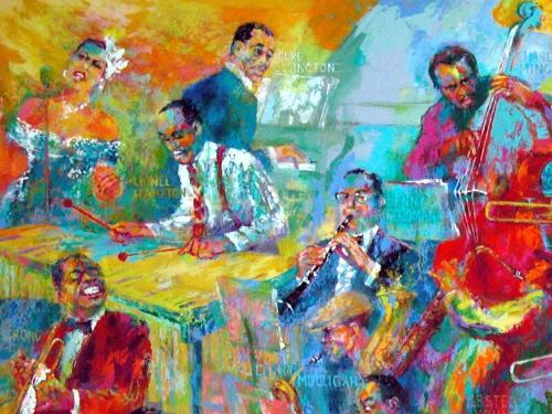 Big Jazz Painting