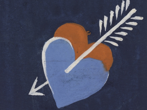 Heart Motif, Textile Design