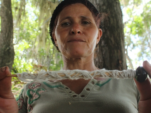 Dominican weaver