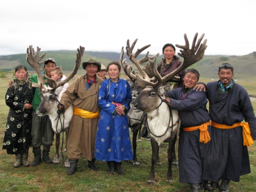 Tsaatan deer herders