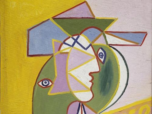 Woman in a Hat (Marie-Thérèse Walter)