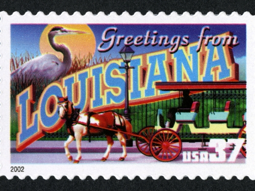 Louisiana stamp