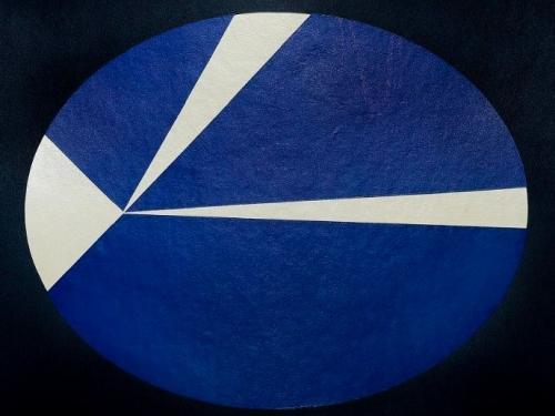 Painting - Law of Orbiting Velocities