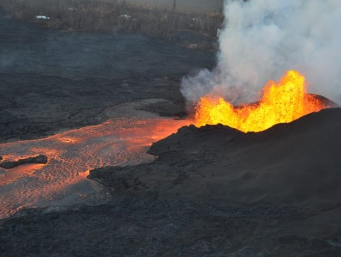 lava erruption
