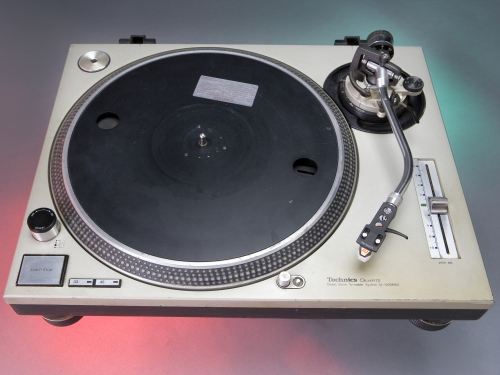 Technics Turntable, used by Grandmaster Flash.