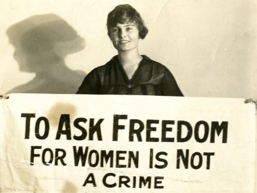 To Ask Freedom for Women is not a Crime