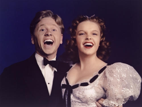 Judy Garland (with Mickey Rooney)