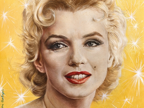 Time Magazine portrait of Marilyn Monroe