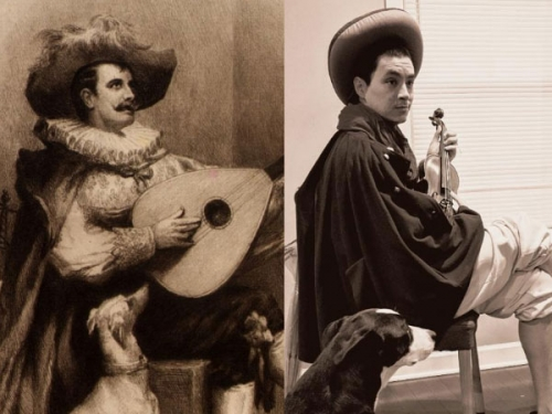 musicians and dogs.