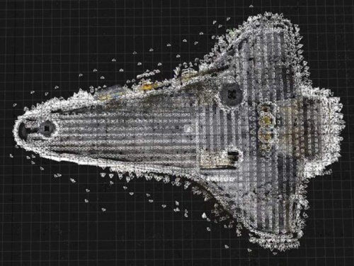 Shuttle data scans.