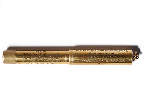 gold pen for the 19h Amendment
