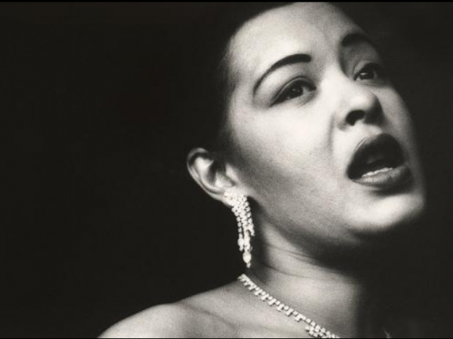 Billie Holiday portrait