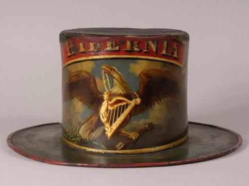 antique fire hat