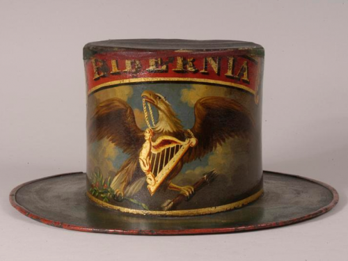 antique fire hat