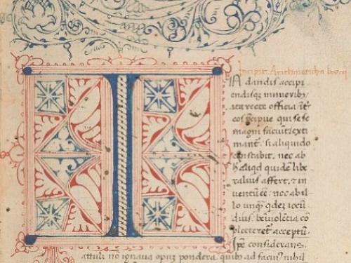 Boethius' De institutione arithmetica