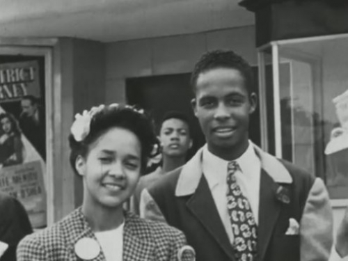Anderson's camera captured moments large and small within Tulsa's African American community.