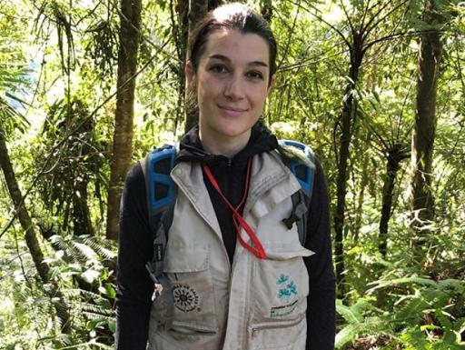 Lichenologist Manuela Dal Forno