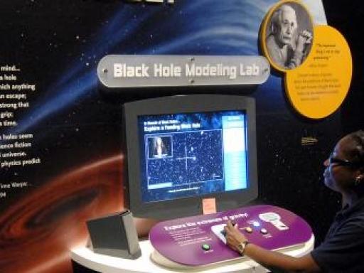 Black hole modeling lab.