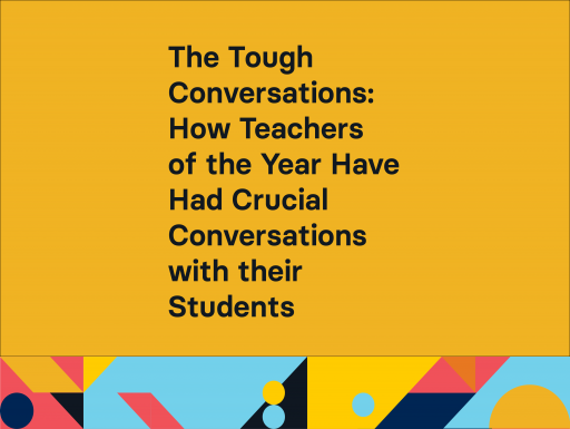 The Tough Conversations with geometric design