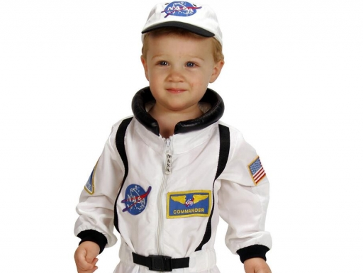 astronaut costume.