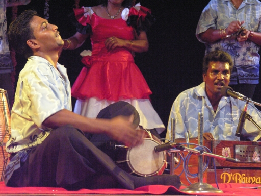 D'Bhuyaa Saaj is a group of chutney musicians from Trinidad.