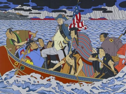 Shimomura Crossing the Delaware [DETAIL]