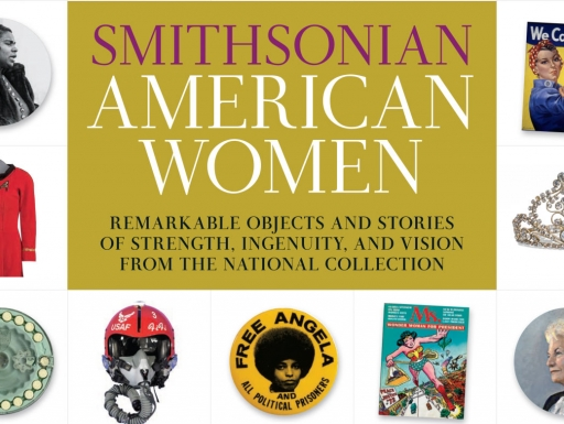 Smithsonian American Women book cover.