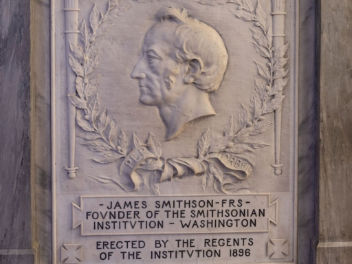James Smithson marker