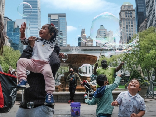 kids in New York City