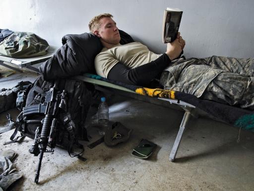 soldier portraitreading