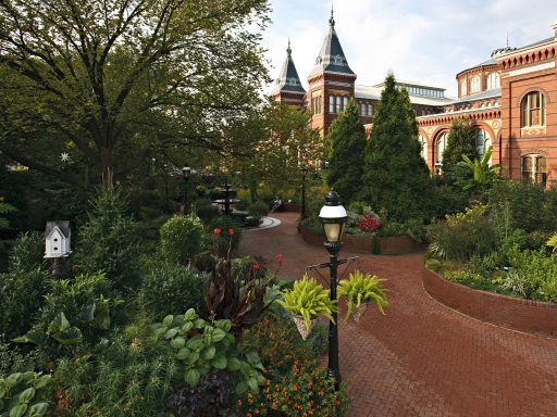 View of the Ripley Garden.