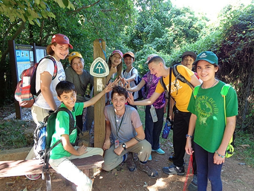 nature campers