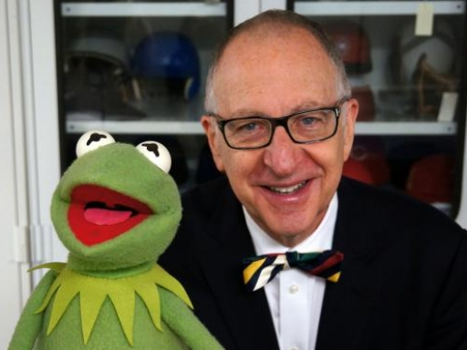 Secretary with Kermit