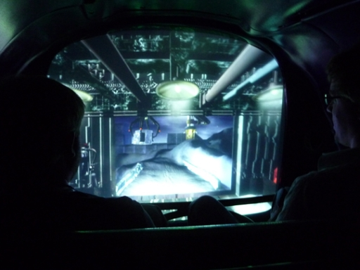 screen like a windshield.
