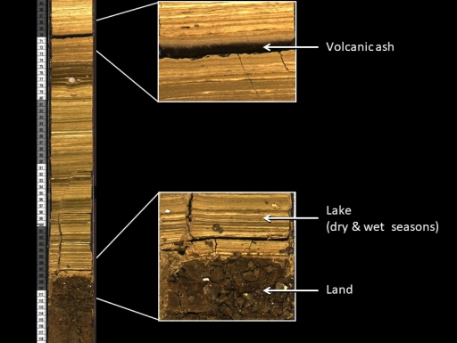 Detail of drill core