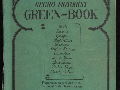Cover of 1940 edition of the Green Book