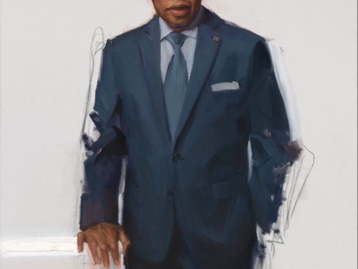 Portrait of John Lewis