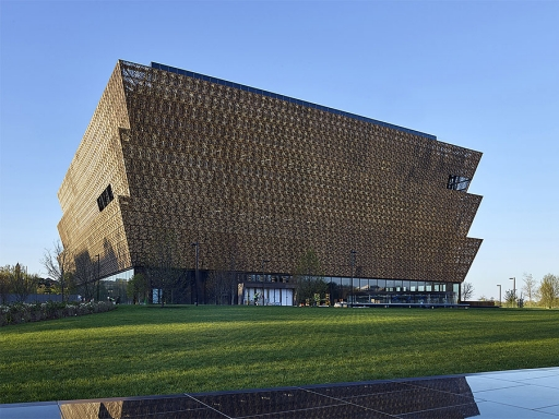 NMAAHC exterior.