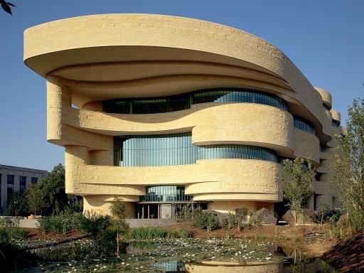 NMAI DC building exterior.